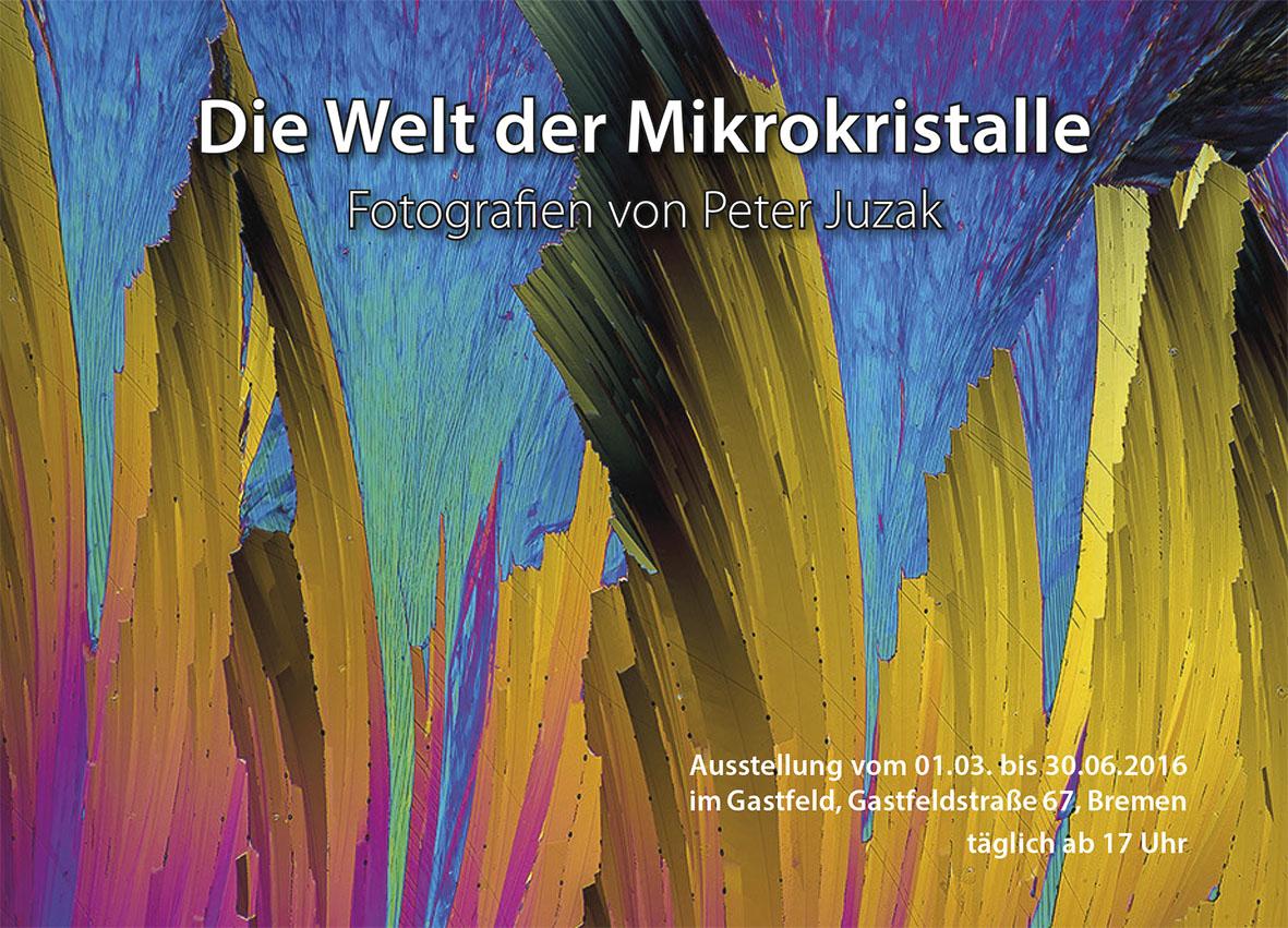 Einladung zur Ausstellung im Gastfeld in Bremen.